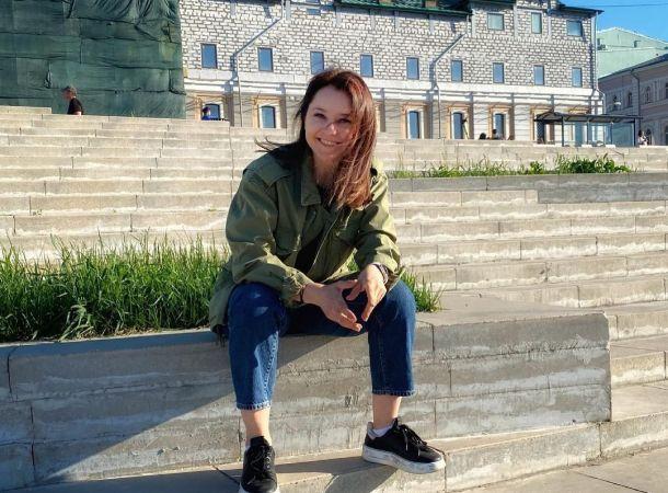Валентина Рубцова продемонстрировала впечатляющий шпагат
