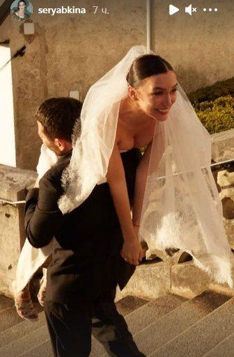 Ольга Серябкина выставила эксклюзивные фото со свадьбы